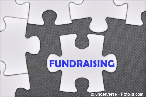 Fundraising puzzle piece