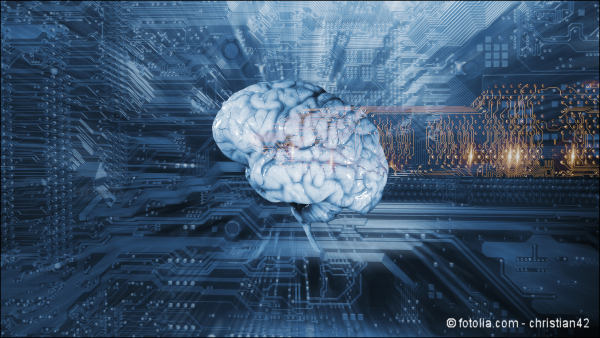 artificial intelligence, communication and futuristic