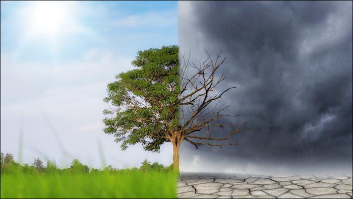 Climate chance concept image