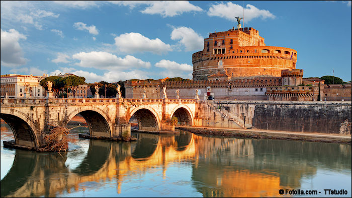 Castel Sant'Angelo, Parco Adriano, Rome