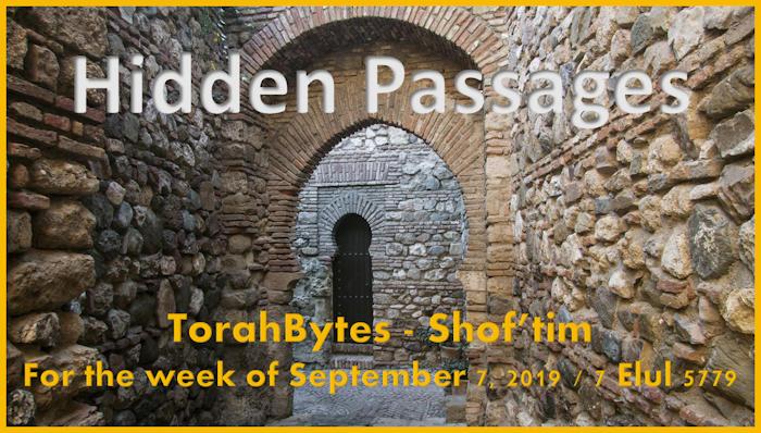 Hidden stone passageway in Malaga, Spain