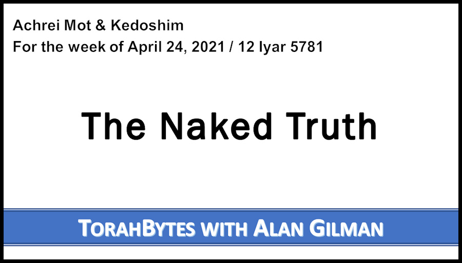 Title text: The Naked Truth