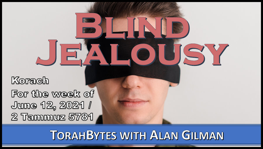 Young man with blindfold over eyes